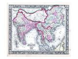 1864, Bangladesh, Cambodia, China, Laos, Malaysia, Nepal, Thailand, Vietnam, Asia, Hindoostan Giclee Print