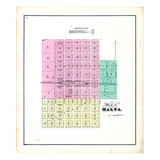 1871, Malta, Illinois, United States Giclee Print