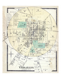 1877, Versailles, Kentucky, United States Giclee Print