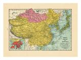 1925, China, Japan, Mongolia, North Korea, South Korea, Asia, China Giclee Print
