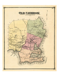 1874, Old Saybrook, Connecticut, United States Giclee Print