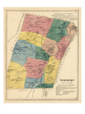1869, Simsbury, Connecticut, United States Giclee Print