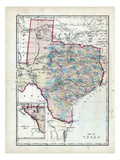 1873, Texas, USA Giclee Print