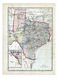 1873, Texas, USA Giclee Print