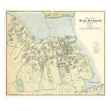 1887, Bar Harbor 1887, Maine, United States Giclee Print