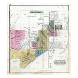1871, Lewistown, Illinois, United States Giclee Print