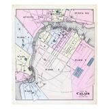 1881, Calais, Queens Ward, Dukes Ward, Maine, United States Giclee Print