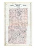 1903, Briley Township, Valentine lake, Leach Lake, Bass Lake, Michigan, United States Giclee Print
