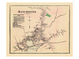 1872, Manchester Village, Massachusetts, United States Giclee Print