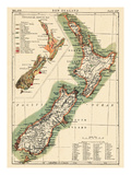 1895, New Zealand Giclee Print
