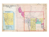 1903, Sulfur Springs, Maysville, Arkansas, United States Giclee Print