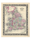 1864, United Kingdom, Europe, England and Wales Giclee Print