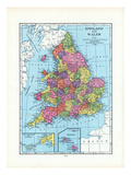 1925, United Kingdom, Europe, England and Wales Giclee Print