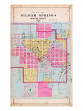 1903, Siloam Springs City, Arkansas, United States Giclee Print