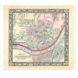 1864, Cincinnati Mitchell Plate, Ohio, United States Giclee Print