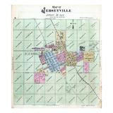 1872, Jerseyville, Illinois, United States Giclee Print