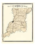 1876, Knox County, Indiana, United States Giclee Print