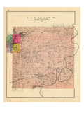 1903, Township 19 North, Range 29 West, Rogers, Electric Springs, Monte Ne Vinda P.O., Mountain Spr Giclee Print