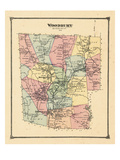 1874, Woodbury, Connecticut, United States Giclee Print