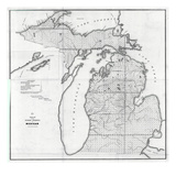 1854, Michigan Giclee Print