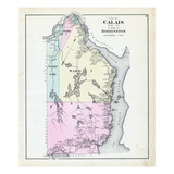 1881, Calais, Robbinston, Maine, United States Giclee Print