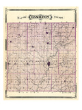 1876, Hamilton County, Indiana, United States Reproduction procédé giclée