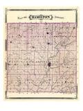 1876, Hamilton County, Indiana, United States Giclee Print