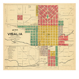 1892, Visalia, California, United States Giclee Print