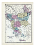 1873, Turkey, Greece, Ionian Islands Giclee Print