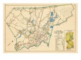 1895, Taunton City, Massachusetts, United States Giclee Print
