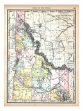 1890, United States, Idaho, North America, Idaho Giclee Print