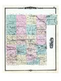1881, Waupaga County, Wisconsin, United States Giclee Print