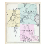 1881, Crawford, Alexander, Cooper, Maine, United States Giclee Print