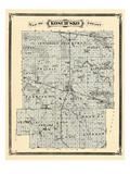 1876, Kosciusko County, Indiana, United States Giclee Print