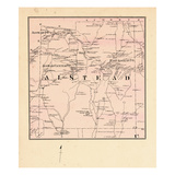 1877, Alsted Township, East Alsted P.O., Warren Pond, New Hampshire, United States Giclee Print