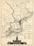 1777, Philadelphia 1777, Pennsylvania, United States Giclee Print