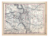 1890, United States, Colorado, North America, Colorado Giclee Print