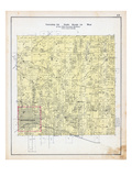 1903, Township 20 North, Range 30 West, Bentonville, Brush Creek, Sugar Creek, Arkansas, United Sta Giclee Print