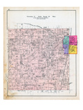 1903, Township 19 North, Range 30 West, Rogers, Colville P.O., Arkansas, United States Giclee Print