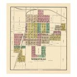 1876, Kirksville, Missouri, United States Giclee Print
