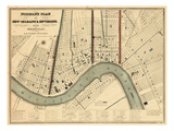 1845, New Orleans 1845, Louisiana, United States Giclee Print
