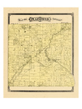 1876, Plainfield Township, Michigan, United States Giclee Print