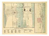 1907, West Palm Beach, Lake Worth and Palm Beach, Florida 1907, Florida, United States Giclee Print