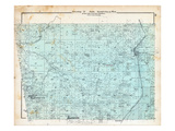 1903, Township 19 North, Ranges 33 and 34 West, Decatur, Cherokee City, Gentry, Bloomfield, Arkansa Giclee Print