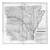 1854, Arkansas Giclee Print