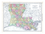 1913, United States, Louisiana, North America, Louisiana Giclee Print