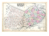 1888, Boston, Massachusetts, United States Giclee Print