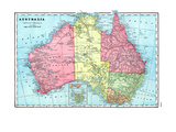 1906, Australia, Oceania Giclee Print