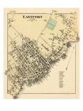 1881, Eastport Village, Maine, United States Giclee Print
