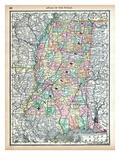 1890, United States, Mississippi, North America, Mississippi Giclee Print